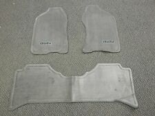 New OEM 1998-2004 Isuzu Rodeo Axiom 3 Piece Gray Floor Mat Carpet Set Left Right