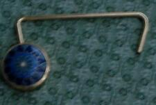 Gently Used Gold Tone Enameled Purse Hanger, VERY GOOD CONDITION