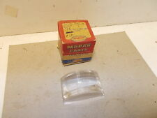 Mopar NOS Back-Up Lamp Lens 53 Plymouth, 50-54 Dodge, 50-51 DeSoto