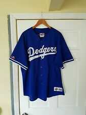 Vintage 90's Authentic Los Angeles Dodgers Baseball Jersey By Diamond Majestic.