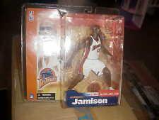 MCFARLANE NBA 2**ANTAWN JAMISON**WHITE WARRIORS JERSEY**QQ
