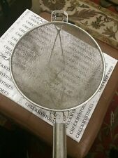 Vintage Commercial Size Strainer/Colander  Made In Italy By JR