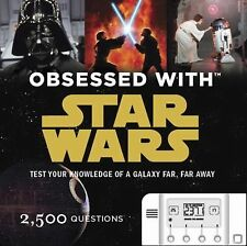 Obsessed with Star Wars Game Book 2500 Questions Test your Knowledge Quiz