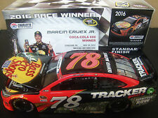 Martin Truex 2016 Bass Pro Shops COKE 600 WIN RACED 1/24 NASCAR