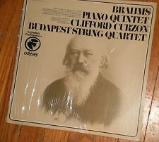 BRAHMS QUINTET IN F MINOR FOR PIANO & STRINGS OP. 34 w/ BUDAPEST STRING QUARTET