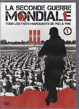 DVD LA SECONDE GUERRE MONDIALE TOUS LES FAITS MARQUANTS DE 1933 A 1945 VOL.1