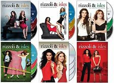 Rizzoli & Isles Complete ALL Season 1-6 DVD Set Series TV Show Collection Lot R1