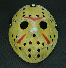Super Old Halloween Mask Jason Voorhees Friday The 13th Horror Movie Hockey Mask