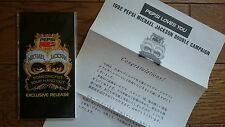 """MICHAEL JACKSON Someone Put Your Hand Out JAPAN Pepsi 3"""" CD w/ Congrats Letter"""