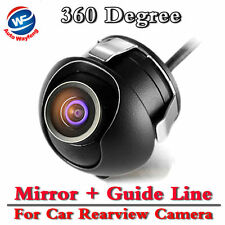 Car Rear View Camera Night Vision CCD/HD 360 Degree Parking Cam Waterproof