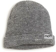 Neff Men's Fold Beanie  Grey Winter Fashion Athletic