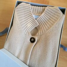 Hawick Cashmere Kaschmir Damen Cardigan Gr. 36/38 Made in Scotland Beige