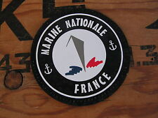 Patch Velcro PVC - MARINE NATIONALE FRANCE