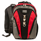 Nylon Red Gray Black Laptop Backpack Carrying Case Bag for Apple MacBook Pro 15