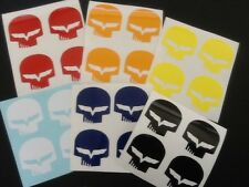 """6 SETS OF 4 JAKE Corvette C6 Racing Decals 1.5""""X1.5"""" High quality ( 24 Decals )"""