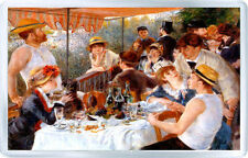PIERRE-AUGUSTE RENOIR - LUNCHEON ON THE BOATING PARTY 1881 MAGNET IMAN