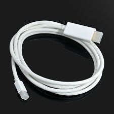 6ft Mini For Apple Mac Macbook Thunderbolt Display Port DP to HDMI Adapter Cable