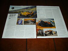 BRUCE MEYERS MANX SS DUNE BUGGY  ***ORIGINAL 2014 ARTICLE***