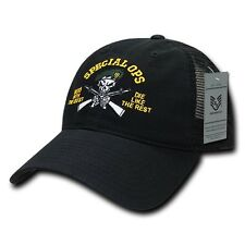 United States US Army Special Forces Ops Green Berets Polo Mesh Baseball Cap Hat