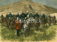 Anglo Zulu War Sir Garnet Wolseley Presenting Victoria Cross to Major Chard 7x5""