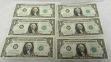#1176 Group or Lot of 12 Consecutive Serial Number Joseph W Barr Notes 1963