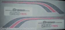 HONDA CB250T DREAM RESTORATION DECAL SET