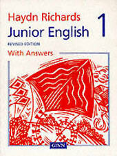 Haydn Richards: Junior English Pupil Book 1 with Answers 1997 (Paperback) NEW