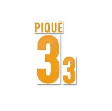 Original Spanien Spain PIQUE Piqué Flock für Adidas Home Trikot EM2012-Quali2014