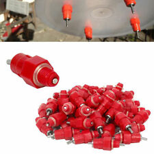 20 Pcs Chicken Drinker Feeder Duck Hen Screw In Backyard Poultry Nipple Water