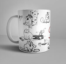 Simons cat funny coffee mug 11 oz cup Crazy Cat Lady gift tea cup Cat Lovers Cup
