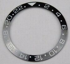 BLACK CERAMIC BEZEL INSERT FOR 40MM ROLEX GMT MASTER II 116710 BLNR - UK STOCK
