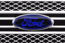 Vinyl Decal Sticker Badge Oval Logo Overlay For Ford F-150 2007-2014 BLACK BLUE