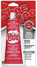 Shoe Goo Original Boot Repair Adhesive Glue Leather Rubber Vinyl 3.7 oz - CLEAR