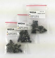 LOT OF 30 TORX SCREWS WIDIA 6x18mm LEFT HAND SCREW FOR INSERT