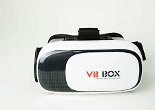 3D Virtuale Video VR Box V2 Reality Google Cartone Occhiali Gioco Casco Cuffie