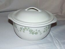 Corelle Coordinates CALLAWAY IVY Stoneware 1.5 qt Covered Casserole Dish