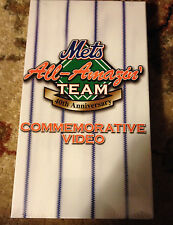 NEW YORK NY METS ALL-AMAZIN' TEAM 40TH ANNIVERSARY VHS Baseball Sports