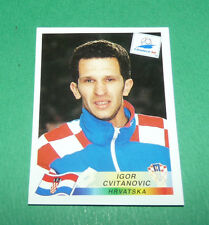 N°550 CVITANOVIC CROATIE HRVATSKA PANINI FOOTBALL FRANCE 98 1998 COUPE MONDE WM