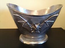 Large METAL BAT WINE CHAMPAGNE ICE BUCKET Halloween Prop Haunted New Decor