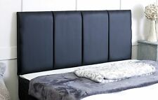 **FAUX LEATHER** STAFFORD HEADBOARD ALL SIZES AND COLOURS AVAILABLE