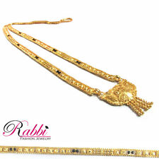 18k Gold plated Ethnic South India Longe Mangalsutra /Necklace/wedding jewellery