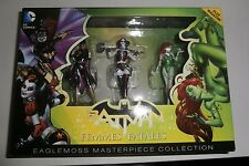 2015 DC COMICS BATMAN FEMMES FATALES HARLEY EAGLEMOSS MASTERPIECE COLLECTION MIB