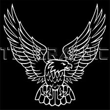 EAGLE DECAL AMERICAN EAGLE VINYL STICKER WINGS BIRD TRUCK CAR WINDOW