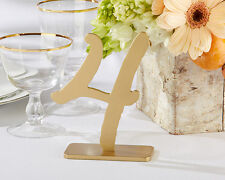 Good As Gold Classic Wedding Table Numbers (1-6) Party Reception Event Decor