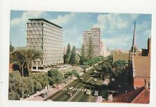 St Georges Terrace Perth Australia Old Postcard 453a