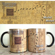 New HP! Color Changing Mug, Harry Potter Mug, Marauders Map, Magical Coffee Cup!