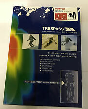 Trespass Potter Base Layer Set Black Unisex