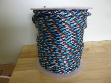 "7/16"" inch solid braid mfp derby rope. 100 ft. Reins, leads, anchor. ISO mfg.USA"
