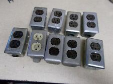 Hubbell Outlet w/ Housing 20A 125V, Lot of 9 *FREE SHIPPING*