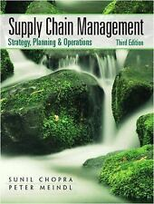 Supply Chain Management : Strategy, Planning, and Operation by Peter Meindl and